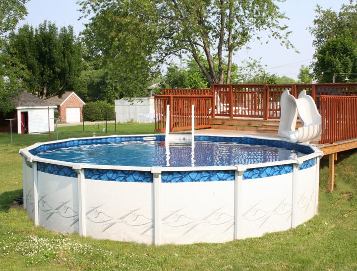 Above Ground Pools #014 By Buchmyer's Pools