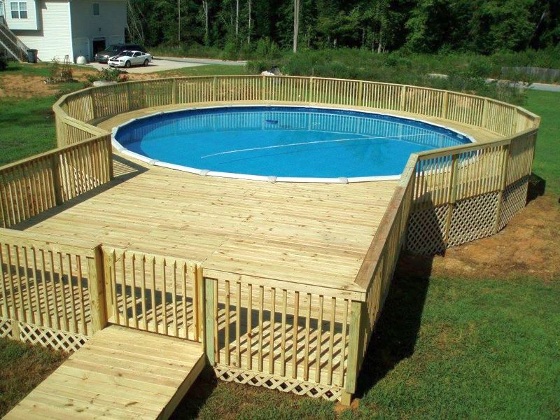 Above Ground Pools #017 By Buchmyer's Pools